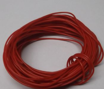 Red Multistrand 7/0.2 Equipment Wire - 10 metres